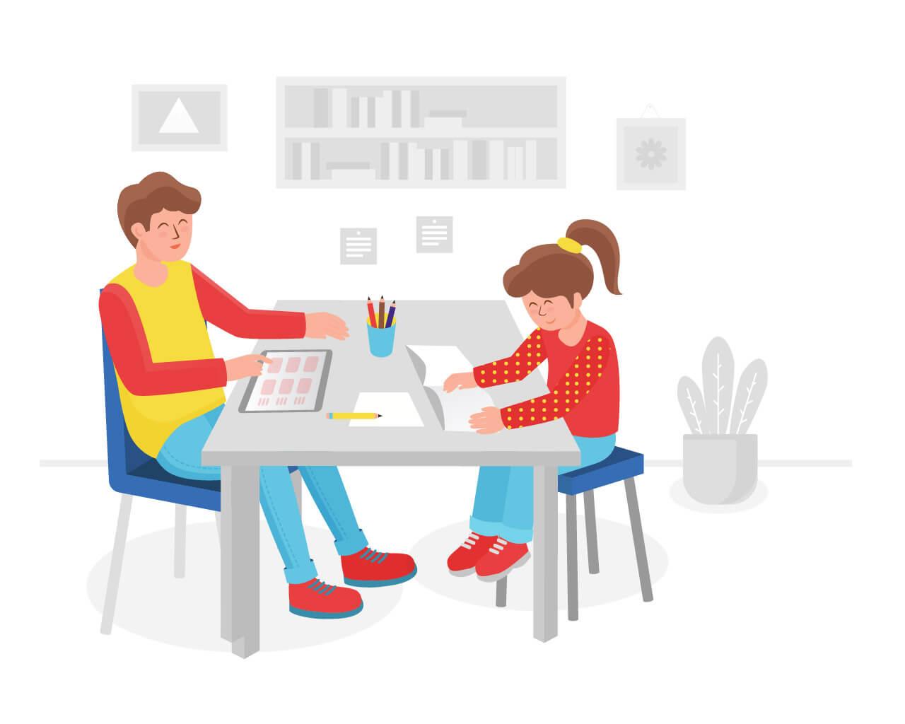 Занятия по по чтению с детьми