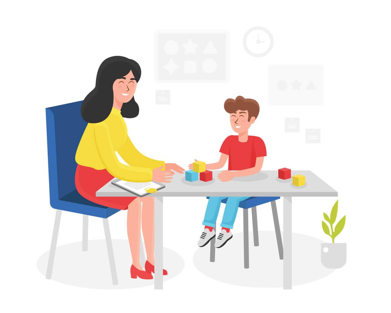 Общение с детьми ДЦП